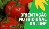 Orientação nutricional on-line